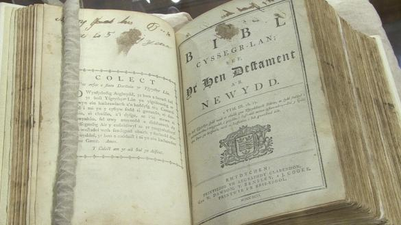 200-year-old Bible returns to Bala